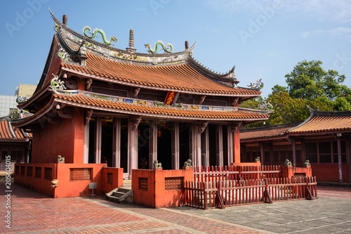 Valokuva  View of Taiwan Confucian Temple in Tainan
