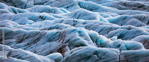 Background texture of glacier
