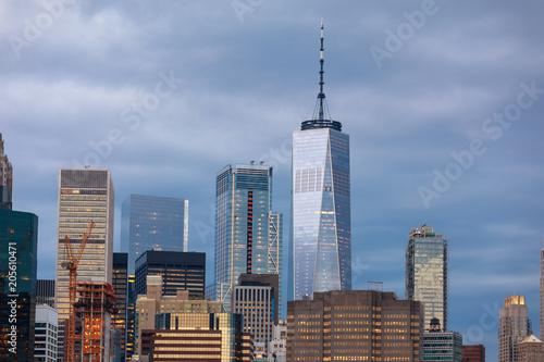 Photo  Lower Manhattan skyline, NYC