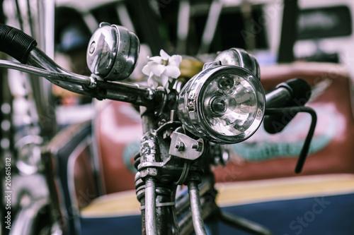 vintage bicycle headlight