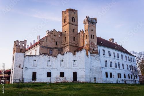 Photo  Ruins of castle in Breclav town in South Moravian Region of Czech Republic