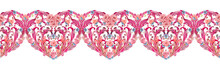 Lovely Border With Fancy Heart...