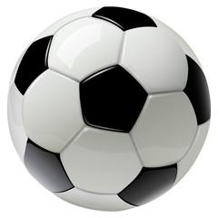 nogometna lopta izolirana na bijeloj