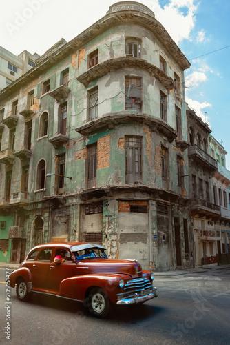 Poster de jardin Havana Cuba
