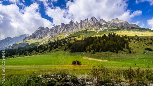 Keuken foto achterwand Noord Europa wandern mühlbach am hochkönig urlaub in bischofshofen salzburg österreich