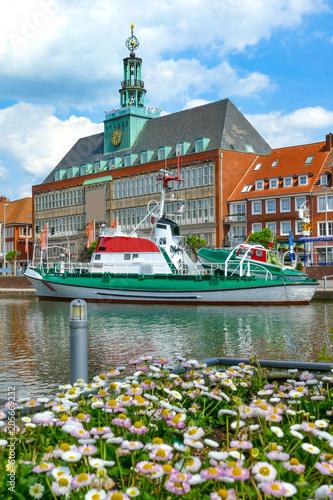 Fototapeta Emden, Hafen, Ostfriesland