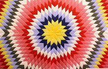 Antique 150 Year Old Quilt