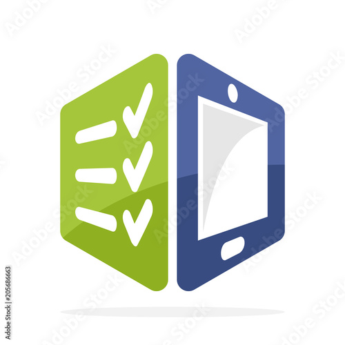 Icon Illustration Symbol With The Concept Of Correcting Evaluating