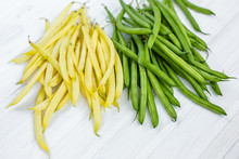 Yellow And Green Bean For Back...