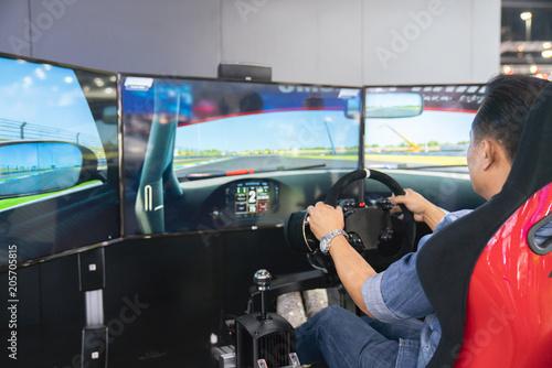 gaming game play tv fun gamer gamepad guy controller video console playing playe Poster