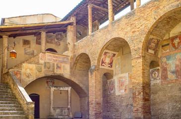 Fototapeta Architektura The medieval architectures of San Giminiano