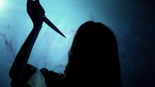 Bloody Dark-haired Murderer St...