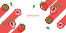 Fresh Strawberry Fruit Backgro...