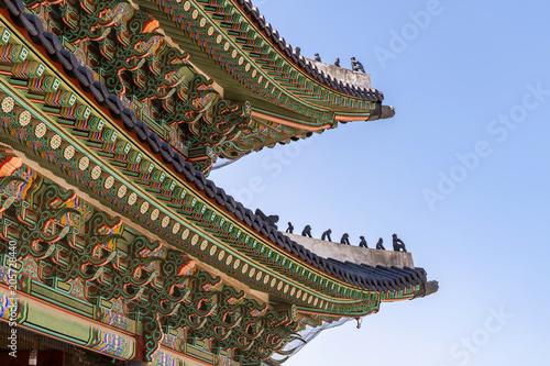 Poster Aziatische Plekken Gyeongbokgung Palace