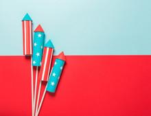 July 4, Rockets For Fireworks ...