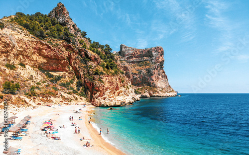 Photo Cala Moraig, Javea, Alicante.