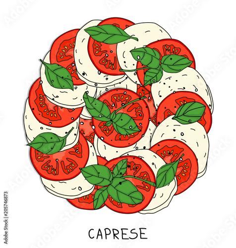 Fototapeta Caprese salad obraz