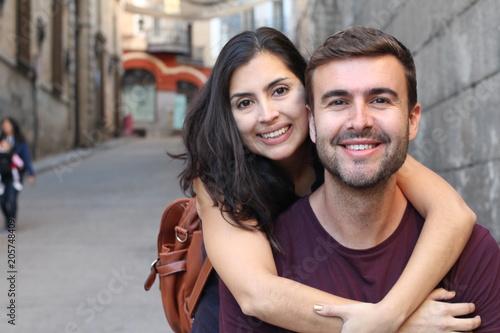 Fotografie, Obraz  Romantic picture of healthy couple