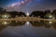 The US Capitol In Washington D...