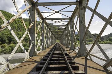 Fototapeta pont de chemin de fer