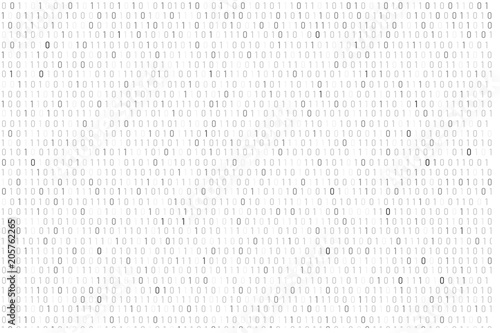 Fotografía  Binary code background