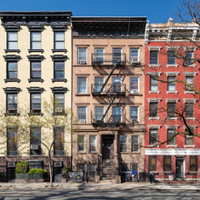 Colorful Old Buildings In The East Village Of New York City