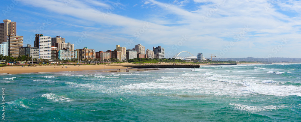 Fototapety, obrazy: Panoramic view of Durban's