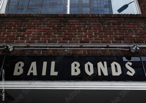 Photo Bail Bond sign