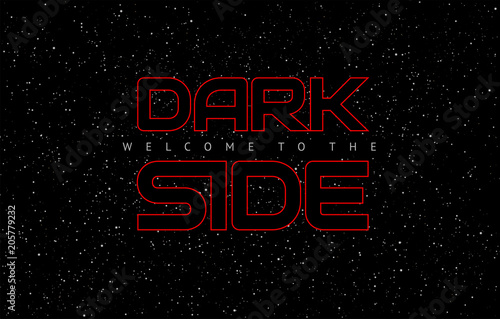 Photo  Dark side space weapon abstract vector background