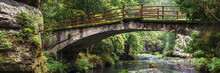 Panoramic View On Old Bridge I...