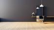 Leinwanddruck Bild - Modern & living salon interior / 3D render image