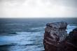 canvas print picture - Helgoland, Meer, Horizont