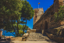 Castle ¨Sohail¨. A Sunny Day In Fuengirola. Malaga Province, Andalusia, Spain. Picture Taken – 15 May 2018.