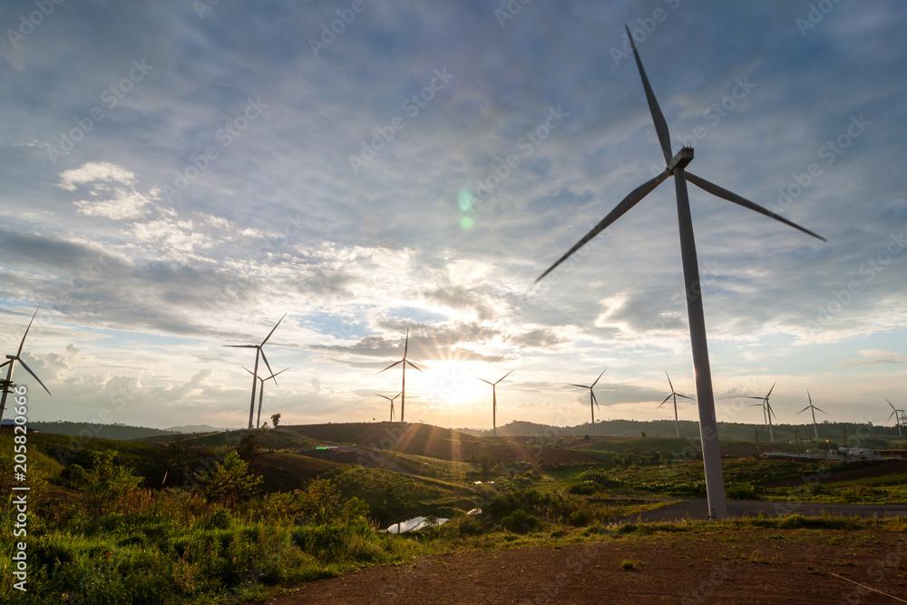 Photo & Art Print Wind Turbine Generator is a renewable