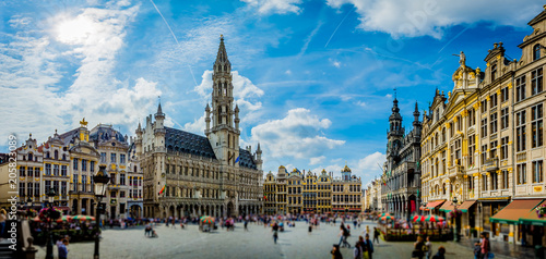 Aluminium Prints Central Europe City of Brussels - Belgium