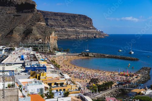 Foto op Canvas Canarische Eilanden Puerto de Mogan, Gran Canaria