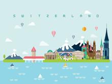 Switzerland Famous Landmarks I...