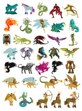 Magical Mythology Creatures