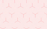 Backgrounds pattern seamless geometric sweet pink abstract and line vector design. Pastel color background. - 205832075
