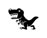 Fototapeta Dinusie - dinosaur 1