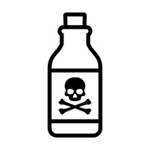 Bottle Of Poison Or Poisonous ...