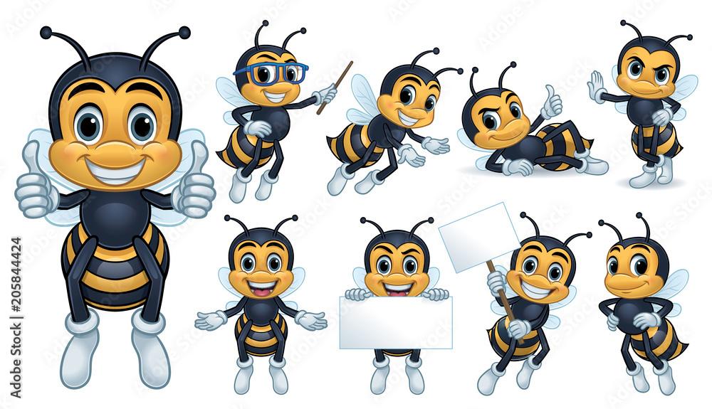 Fototapeta Bee Mascot