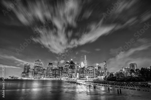 Foto op Aluminium New York View of Manhattan in New York City