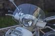 Scheinwerfer vom Motorroller