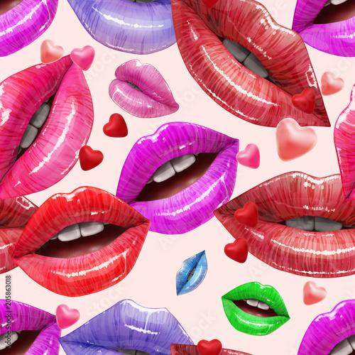 bezszwowy-wzor-kolorowe-seksowne-wargi-wektor-szminka-lub-blyszczyk-3d-realistyczny