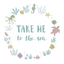 WebTake Me To The Sea. Frame W...