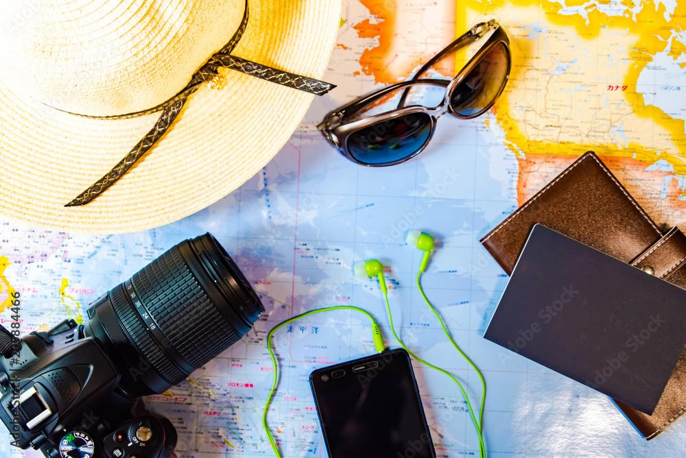 Fototapeta 旅行 準備