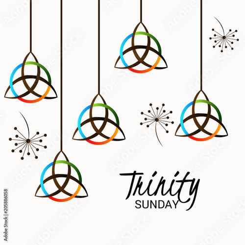 Trinity Sunday - Buy this stock illustration and explore similar