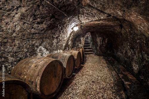 Fotografie, Tablou Wine cellar