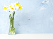 Bouquet Of Fresh Flowers, Daff...
